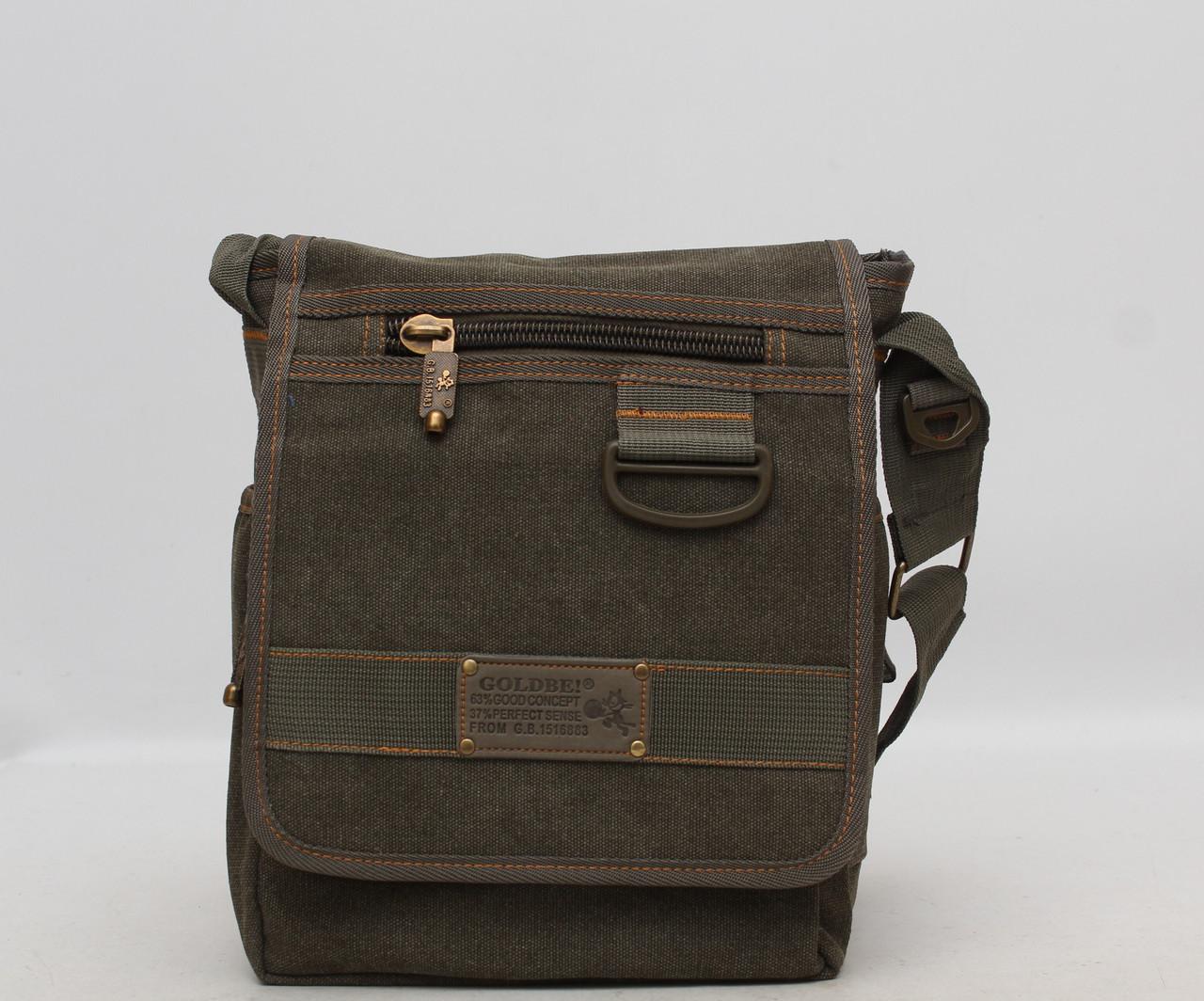 eb28ed5bf4e2 Мужская сумка через плечо Gold Be Хаки: продажа, цена в Фастове ...