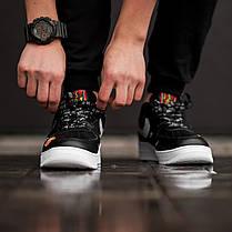 "Кроссовки Nike Air Force 1 Low Just Do It ""Black/White"" (Черные/Белые), фото 2"