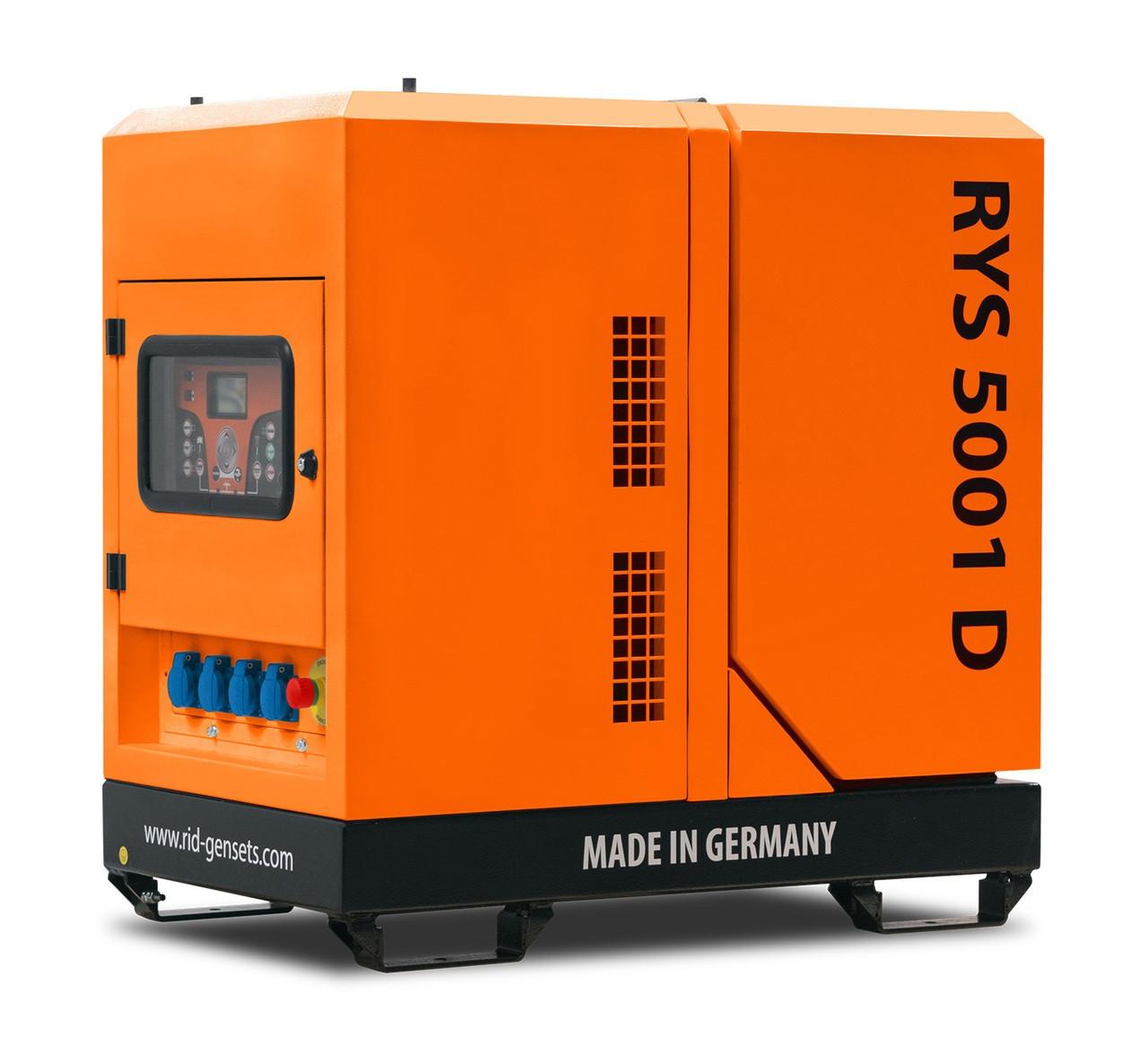Дизельный генератор RID RYS 5001 D (5 кВт)