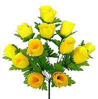 Роза раскрытая, 51см (10 шт в уп.)