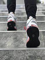 "Кроссовки Nike Air Max 98 Off-White ""White/Grey"" (Белые/Серые), фото 2"