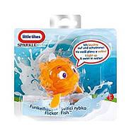 """Інтерактивна іграшка з серії Мерехтливі Рибки """"Їжак-риба"""",Little Tikes"""