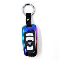 Зажигалка электроимпульсная USB в виде ключа-брелока S208 BMW