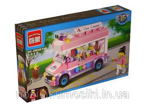 Конструктор Brick Enlighten 1112 фургон с мороженым, 212 деталей