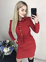 """женское модное платье  рубашка (жіноча сукня ) """"Асти"""" 3 цвета, фото 1"""