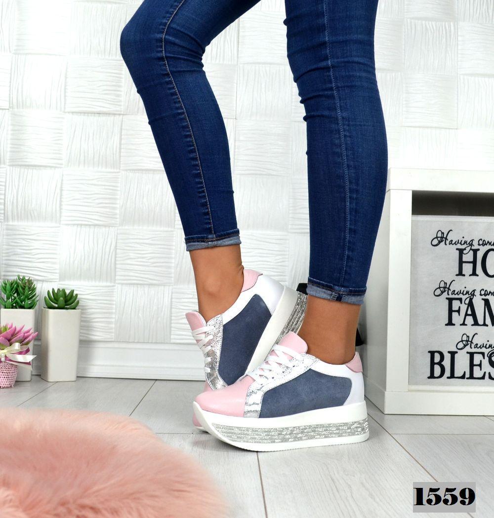 4c5cb86a Женские кроссовки MAXI на платформе, из натуральной кожи 38, 40 ПОСЛЕДНИЕ  РАЗМЕРЫ