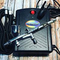 Аэрографы и мини компрессоры для аэрографии FENGDA