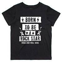 Футболка Детская Born To Be A Rock Star