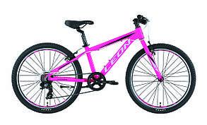 """Велосипед подростковый 24"""" Leon JUNIOR RIGID 2019 (розовый)"""