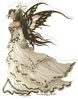 """Набор алмазной вышивки (мозаики) """"Фея - бабочка"""""""