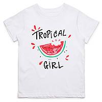 Футболка Детская Tropical Girl