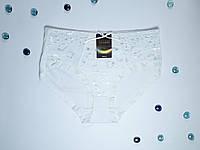 Белые трусы с цветочным узором Dinani 3211A