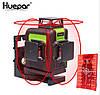 Лазерный уровень Huepar 3D Red HP-903CR с красными лучами