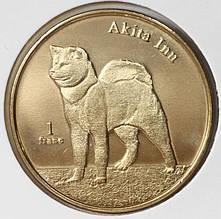 Монета Сен-Бартельми  1 франк 2013 г.
