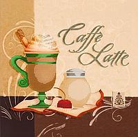 """Схема для вышивания бисером """"Caffe Latte"""""""