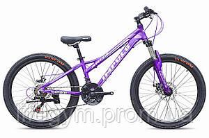 """Велосипед IMPULS ANITA 24"""" Рама 12"""" (Импульс) фиолетовый г.Киев"""