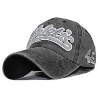 Кепка бейсболка Athletic Черный, Унисекс, фото 1