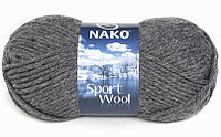 Nako Sport Wool темно-серый № 193
