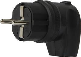 Вилка угловая каучуковая e.plug.rubber.angle.027.16, с з/к, 16А E.NEXT (s9100030)