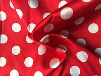 Атлас Горох Красный с Белым (25 копеек)