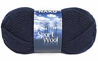 Пряжа Полушерстяная Nako Sport Wool 3088 для Ручного Вязания