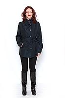 Куртка женская  синяя Ассиметрия / куртка жіноча синя