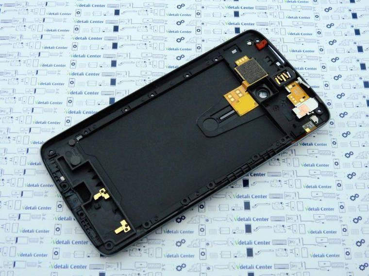 New. Средний корпус Motorola X Play XT1562 Черный, фото 2