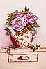 """Схема для вышивания бисером """"Розовый букет"""""""
