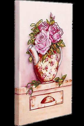 """Схема для вышивания бисером """"Розовый букет"""", фото 2"""