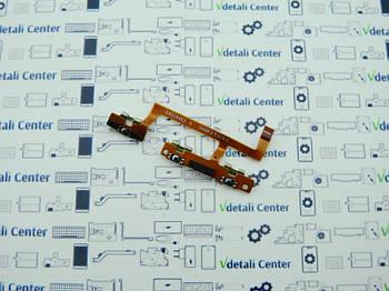 Шлейф включения и громкости Motorola XT1562 Сервисный оригинал