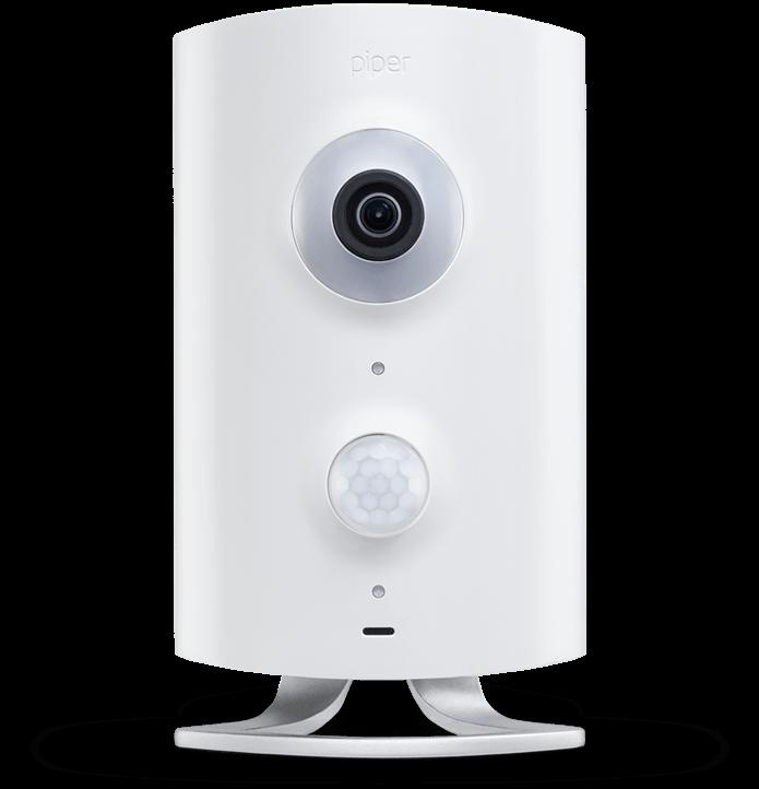 Z-Wave контроллер Piper с охранными функциями и HD камерой - ICOEPIPER