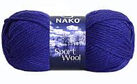 Nako Sport Wool василек № 10472