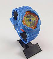 Часы Casio G-Shock GA-100 5146 голубого цвета водонепроницаемые