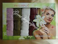"""Бамбуковые полотенца / кухня Philippus """"Bamboo Elit"""" 6шт: 30х50 Tурция"""