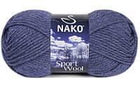 Nako Sport Wool джинс меланж № 23162