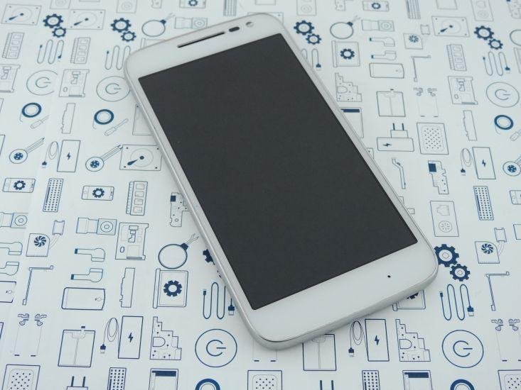 New. Motorola G XT1602 дисплей (модуль) в корпусе Белый