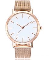 Наручные часы женские с ремешком золотистого цвета код 421