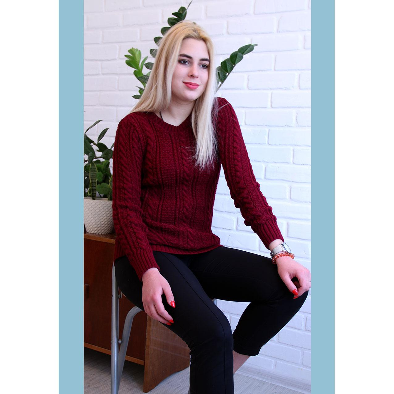 Женский свитер 44 ― 50