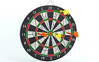 Мишень для игры в дартс из флока Flocked BL-12115 d-30см  Baili