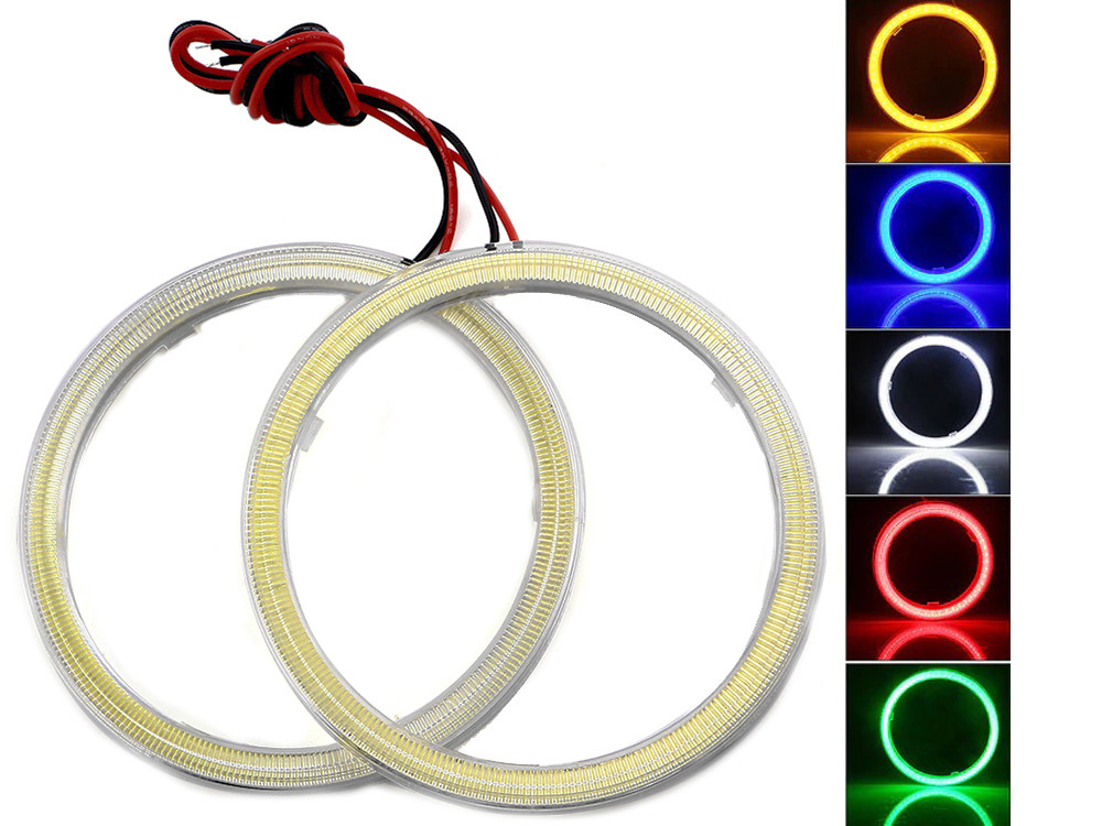 LED кольца Ангельские глазки E-Bright (2 шт.)  Белый