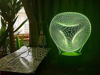 """3D светильник """"Иллюзия"""" 3DTOYSLAMP"""