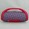 Портативна bluetooth колонка вологостійка JBL Boombox B9 mini FM, MP3, радіо Червоно-Синя, фото 5