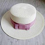 Летняя шляпа канотье, фото 5