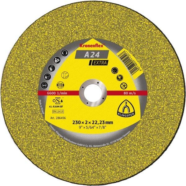 Відрізні круги Kronenflex®KT/EXTRA/A24EX/S/GER/180X3X22,23