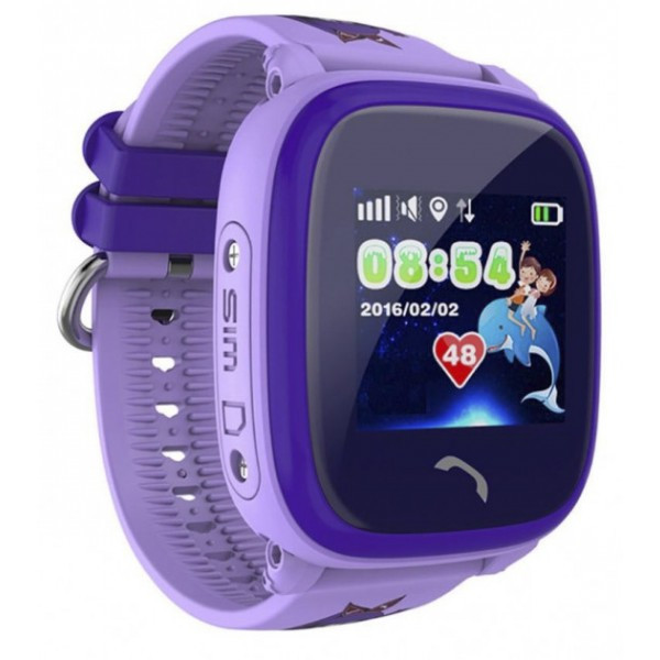 Детские часы BabyGPS Q300S Pro plus Фиолетовые (0127)