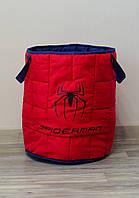 Большая мягкая корзина для игрушек  «Spider-Man», фото 1