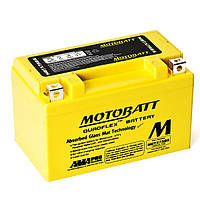 "Аккумулятор для мототехники 7(А/ч) 12V AGM (105A) АКБ ""MOTOBATT"" MBTX7ABS"