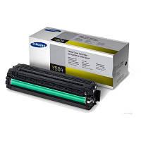 Заправка картриджа Samsung CLT-Y504S yellow для принтера Samsung CLP-415N, CLP-415NW, CLX-4195N, CLX-4195FW