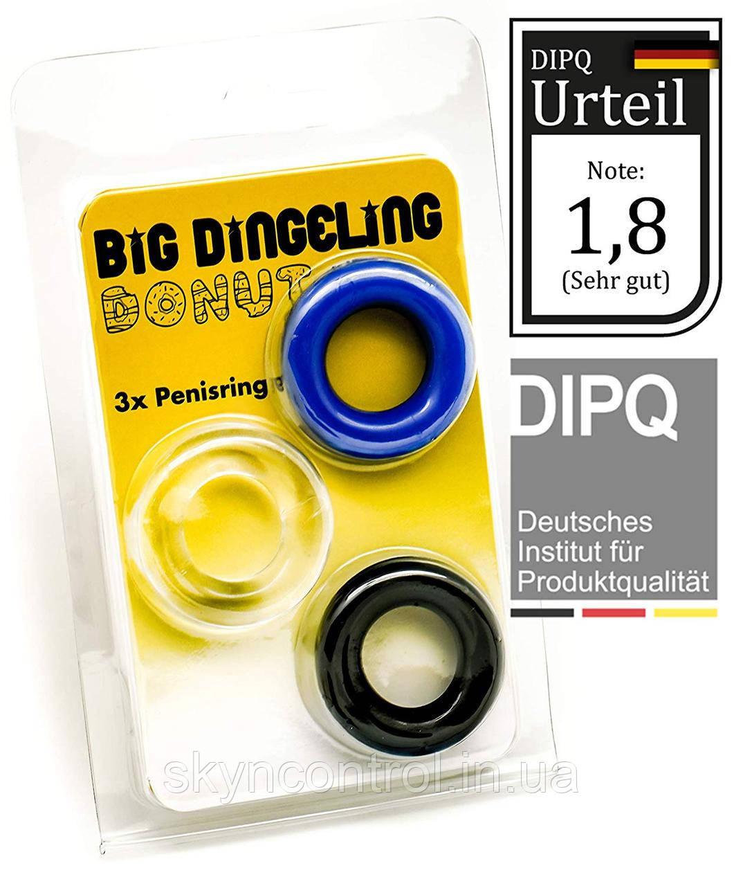 BIG DINGELING Эрекционное кольцо, три цвета