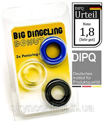BIG DINGELING Эрекционное кольцо, три цвета, фото 2